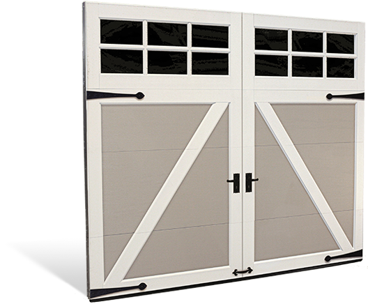 Steel Carriage House Style Garage Doors Coachman Collection