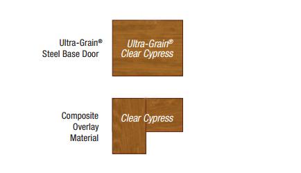 Faux Wood Insulated Steel Garage Doors Canyon Ridge